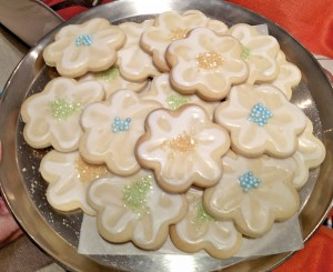 Postcards Home Sugar cookies