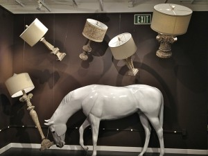 Cyan Design horse and lamps