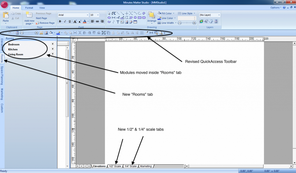 Minutes Matter graphic design software update