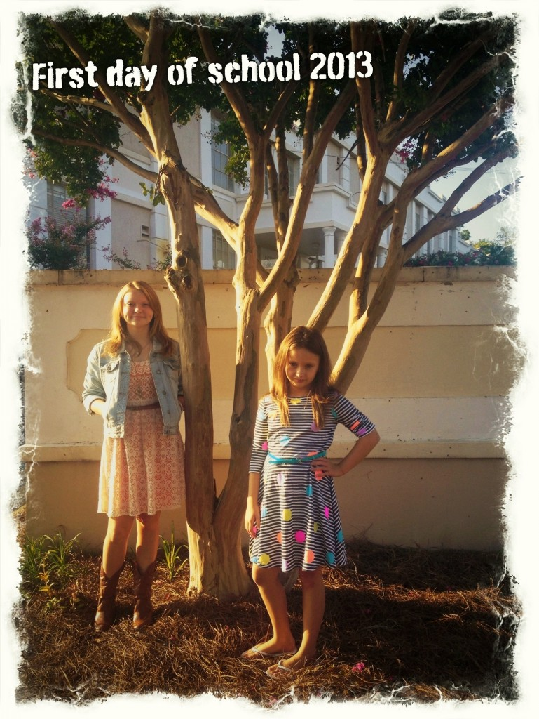 Blog~Minutes Matter, First Day of School
