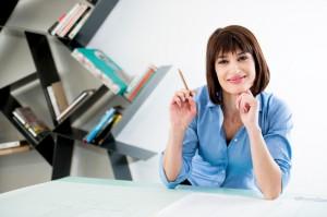 Successful Female Architect or Enginneer