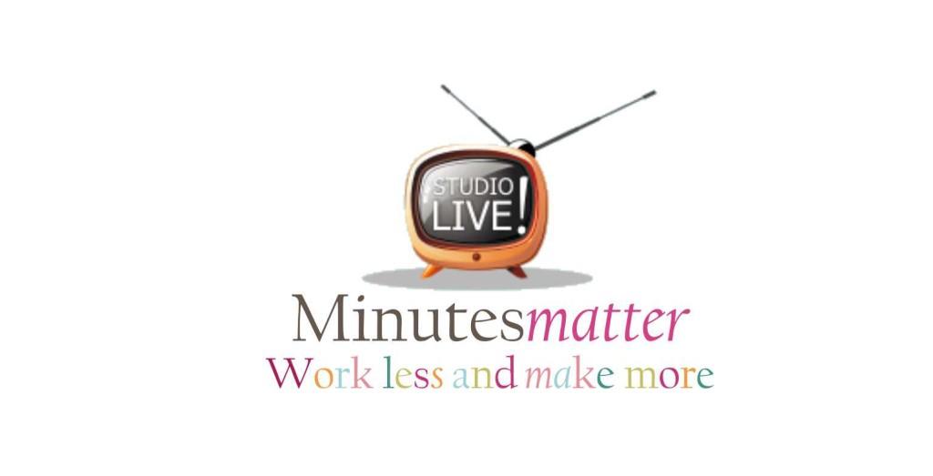 Intro Screen for Studio Live (white background)